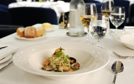 noir-serveur Chef Aid Nylon Spaghetti Serveur