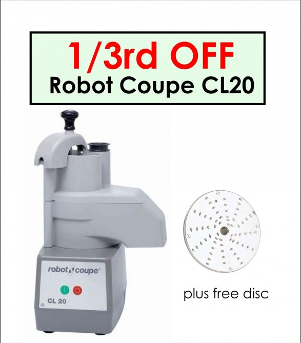 Home Page Robot Coupe CL20 2